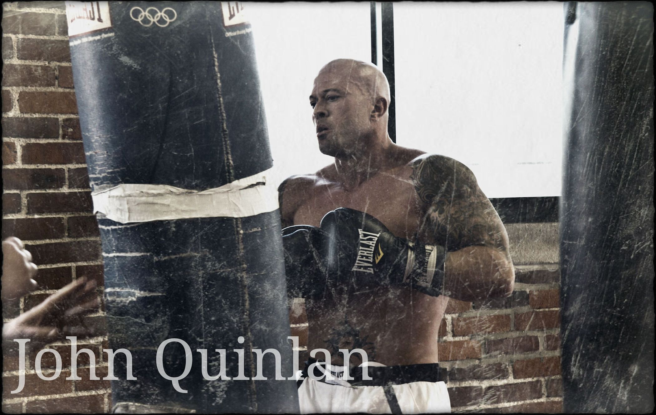 Actor & Model John Joseph Quinlan Boston Film Project Boxing Cruiser Weight Champion #JohnQuinlan