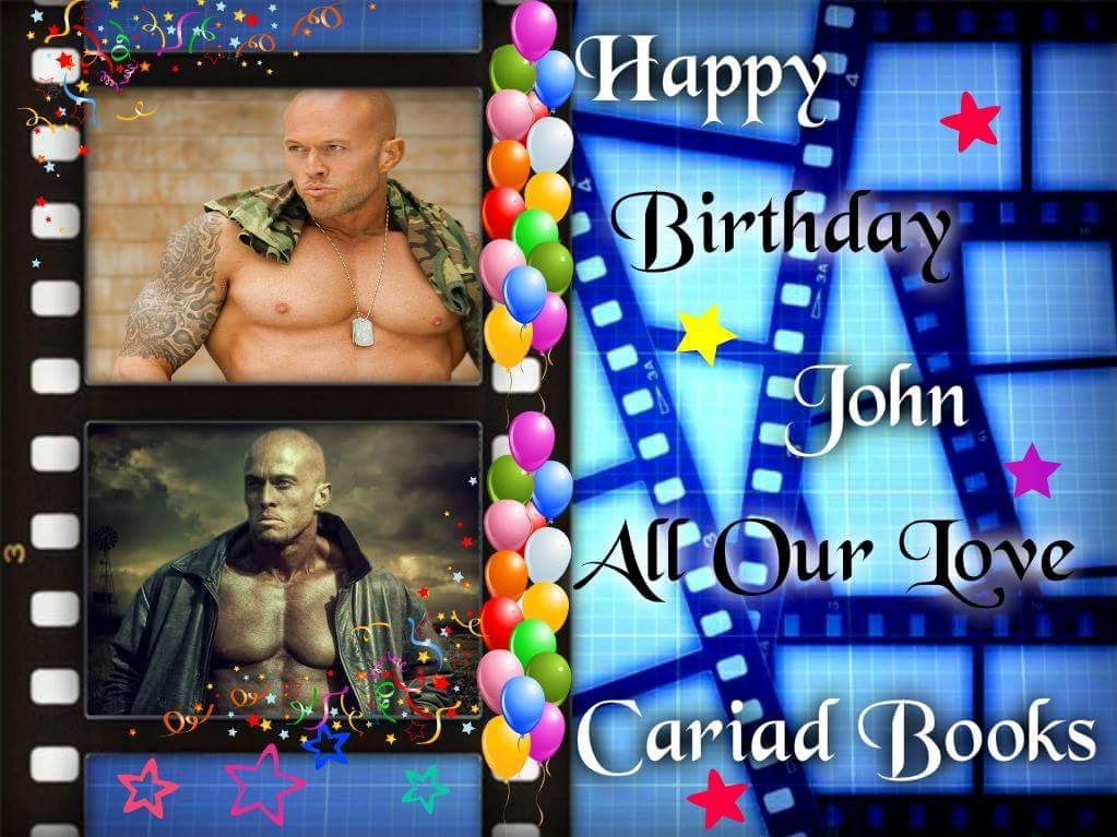 Model & Actor John Quinlan Cariad Books Happy Birthday Poster 2016 #JohnQuinlan