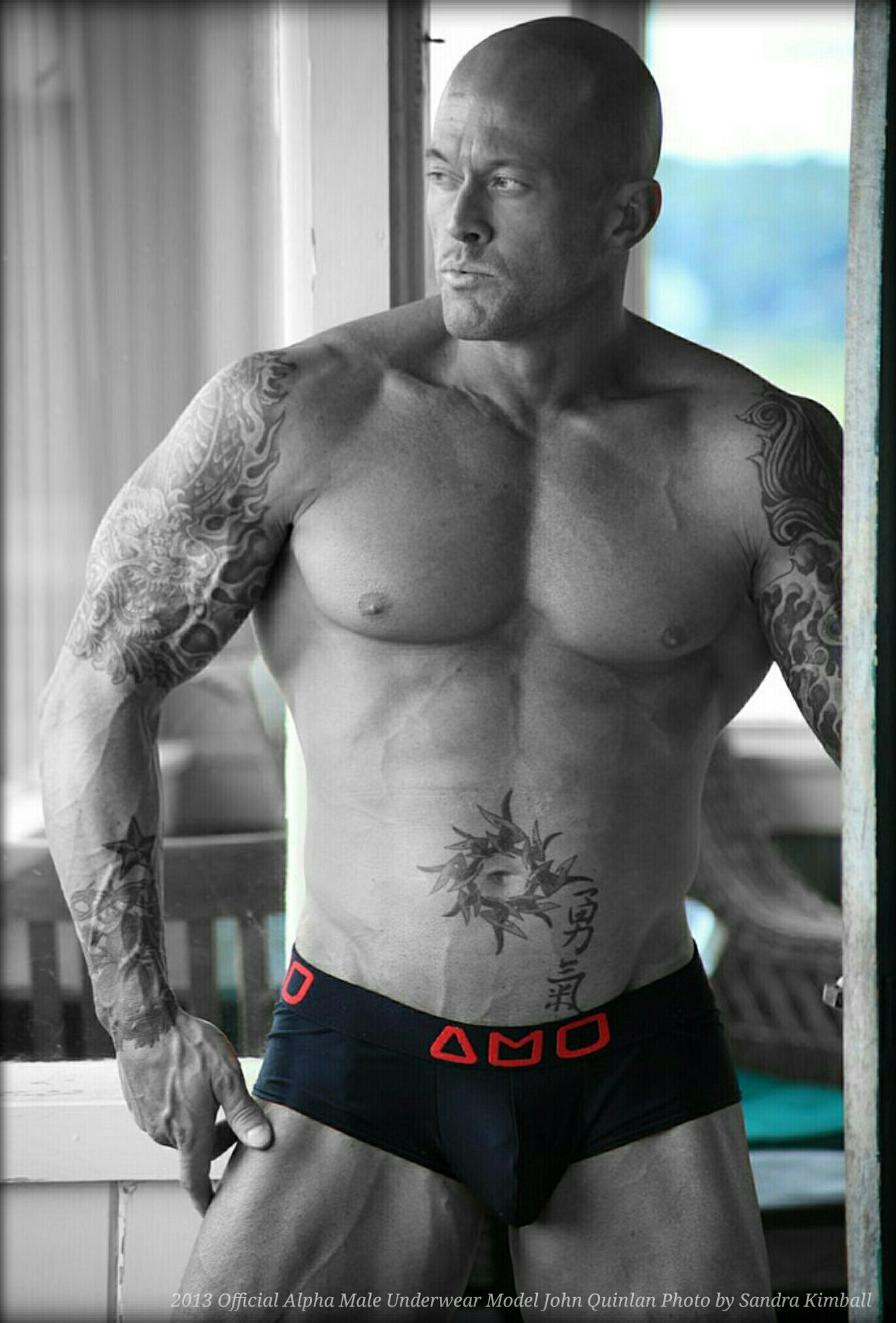 Romance Physique Underwear Model & Actor John Joseph Quinlan in Alpha Male #JohnQuinlan