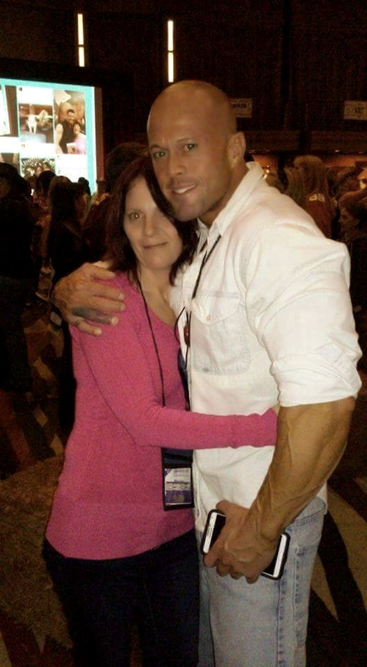 2015 RT Convention Cover Model & Actor John Joseph Quinlan with Shazza Fletcher #JohnQuinlan