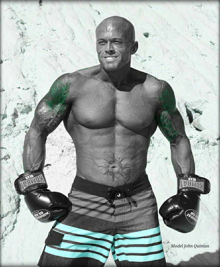 Physique Model & Actor John Joseph Quinlan MMA Boxing & Kombat Gear Fitness #JohnQuinlan