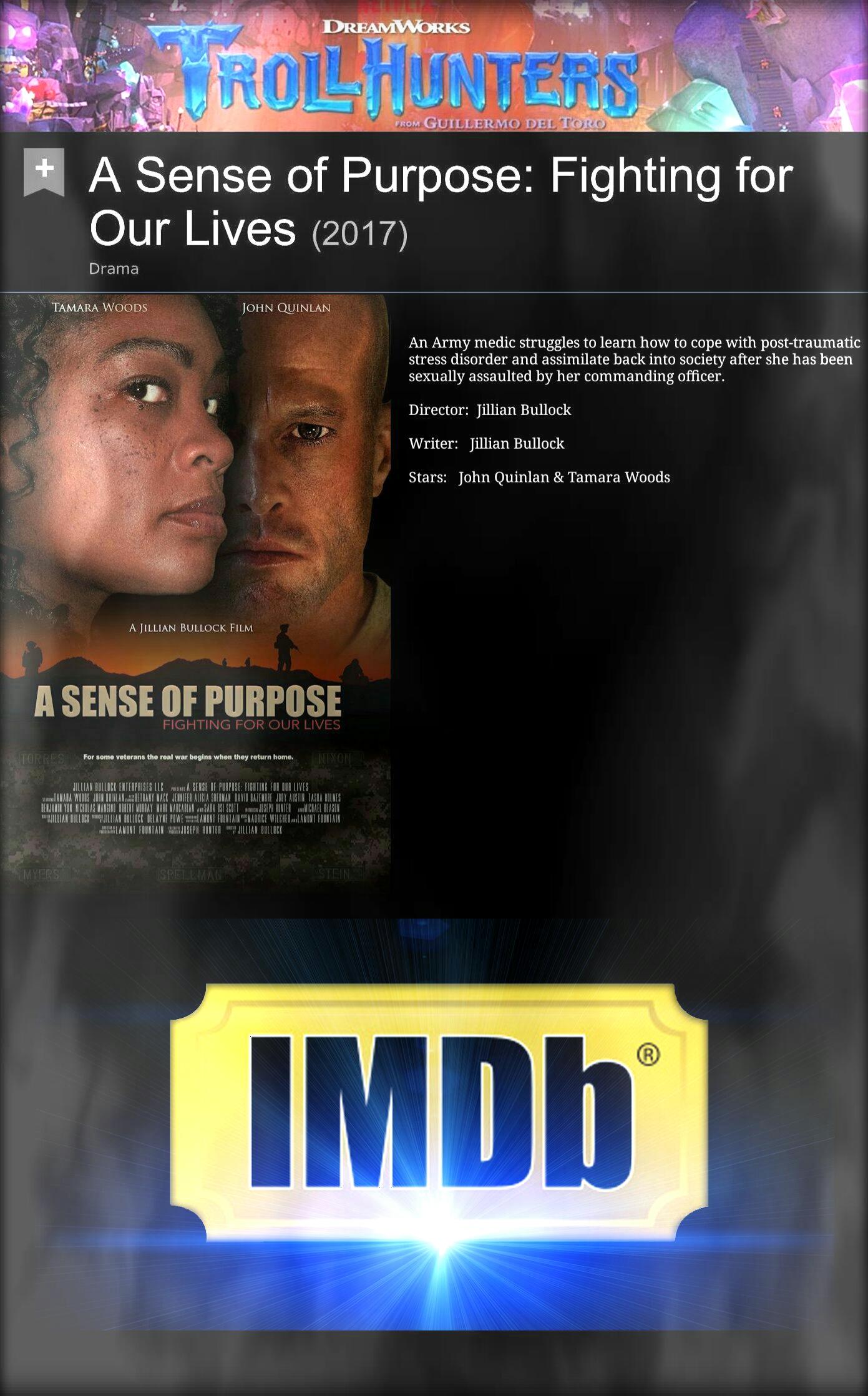 A Jillian Bullock Film ~ Actor John Joseph Quinlan & Tamara Woods @ IMDb #JohnQuinlan