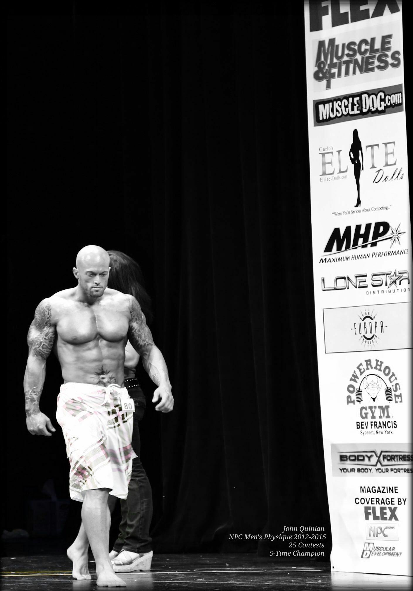 NPC Physique Model & Actor John Joseph Quinlan 5-Time Champion #JohnQuinlan