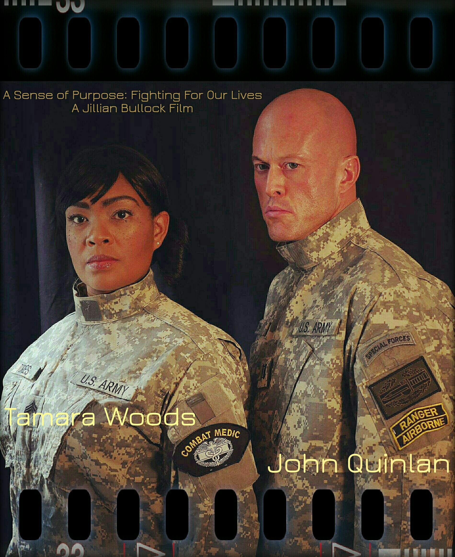 A Sense of Purpose Fighting For Our Lives - Tamara Woods & John Quinlan by Jillian Bullock #JohnQuinlan #TamaraWoods #JillianBullock #ASenseOfPurpose #Movie