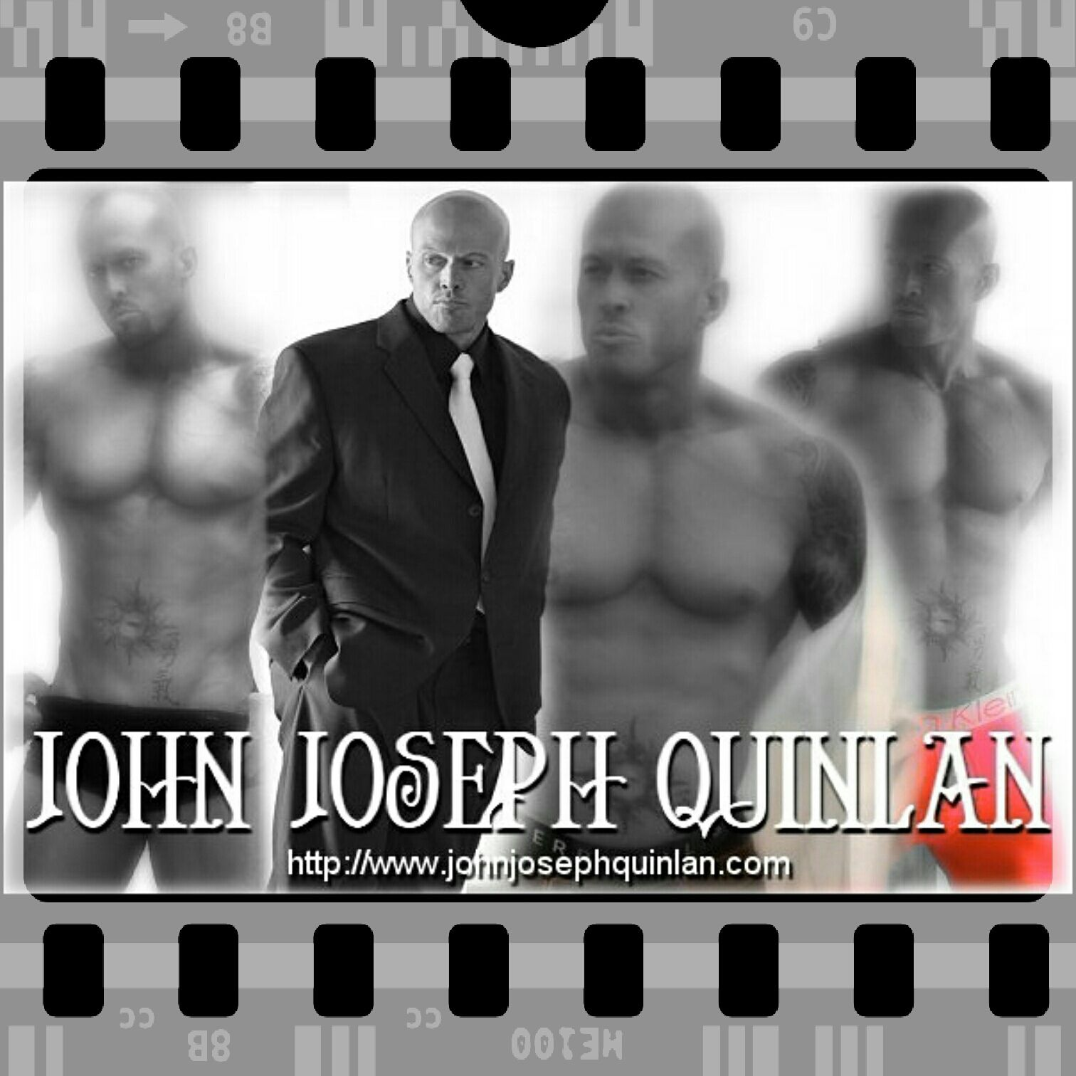 Model & Actor John Joseph Quinlan Retro Fashion Film #JohnQuinlan