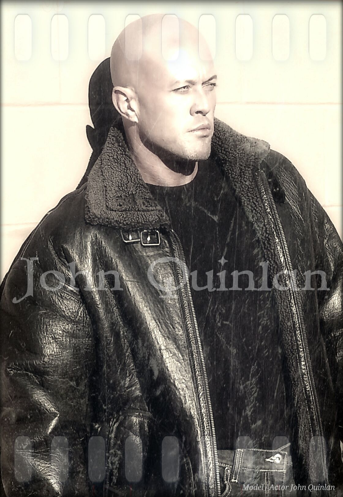 Physique Romance Cover Model & Actor John Joseph Quinlan Calvin Klein #JohnQuinlan