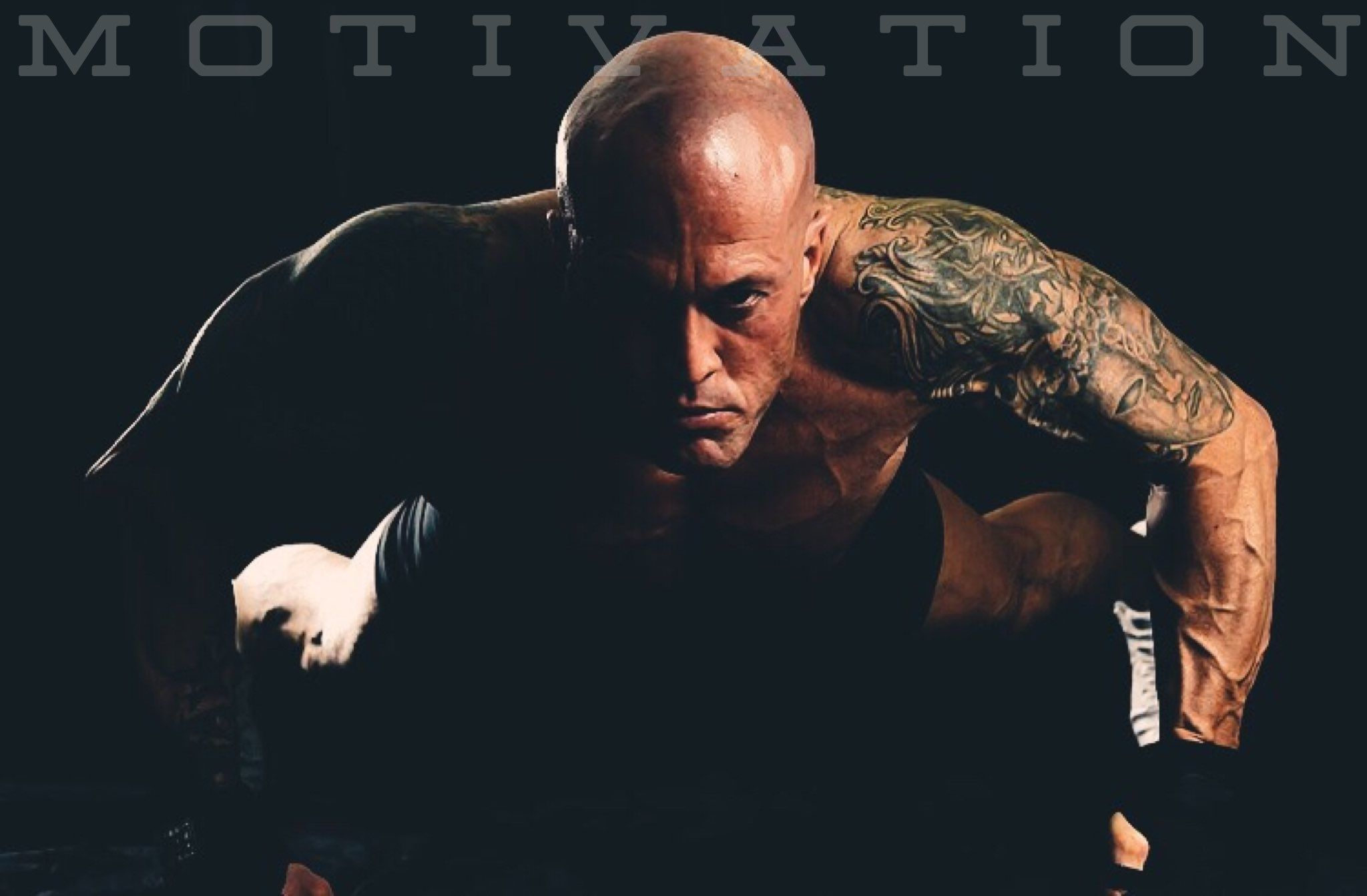 Model & Actor John Joseph Quinlan Fitness Motivation Poster by Nikki Lenore #JohnQuinlan