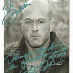 Actor & Model John Joseph Quinlan Autograph Signed 8x10 to Jillian Bullock #JohnQuinlan