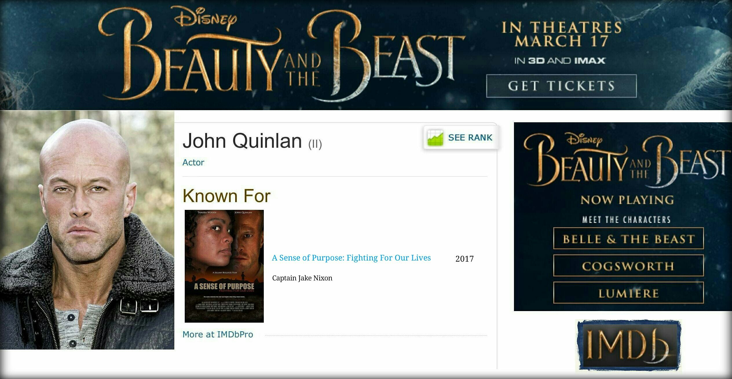Model & Actor John Joseph Quinlan @ IMDb #JohnQuinlan