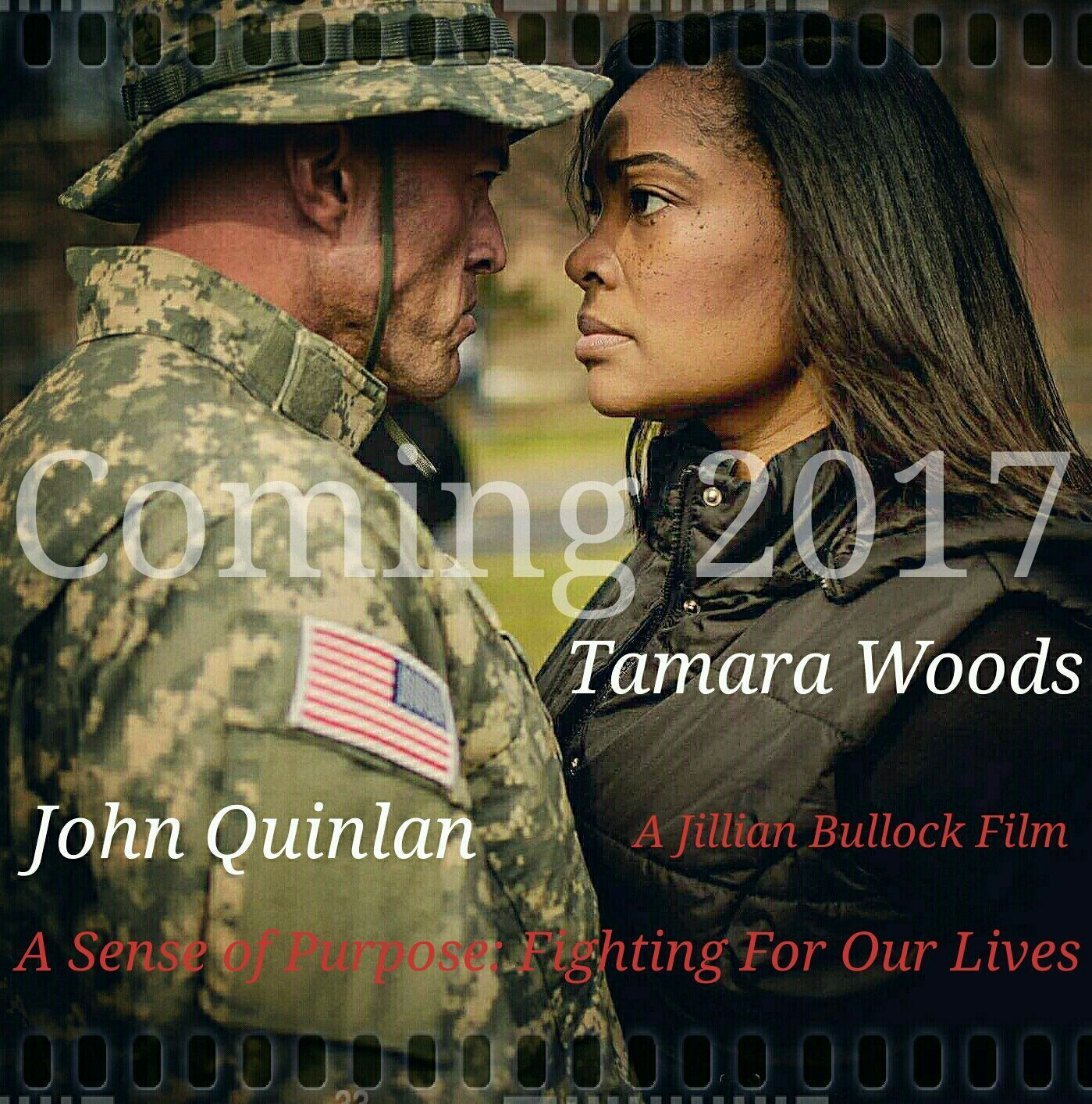 A Sense of Purpose Fighting For Our Lives - Tamara Woods & John Quinlan by Jillian Bullock #JohnQuinlan #JillianBullock