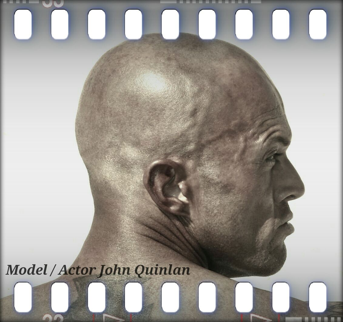 Male Cover Model & Actor John Joseph Quinlan Film Poster #JohnQuinlan