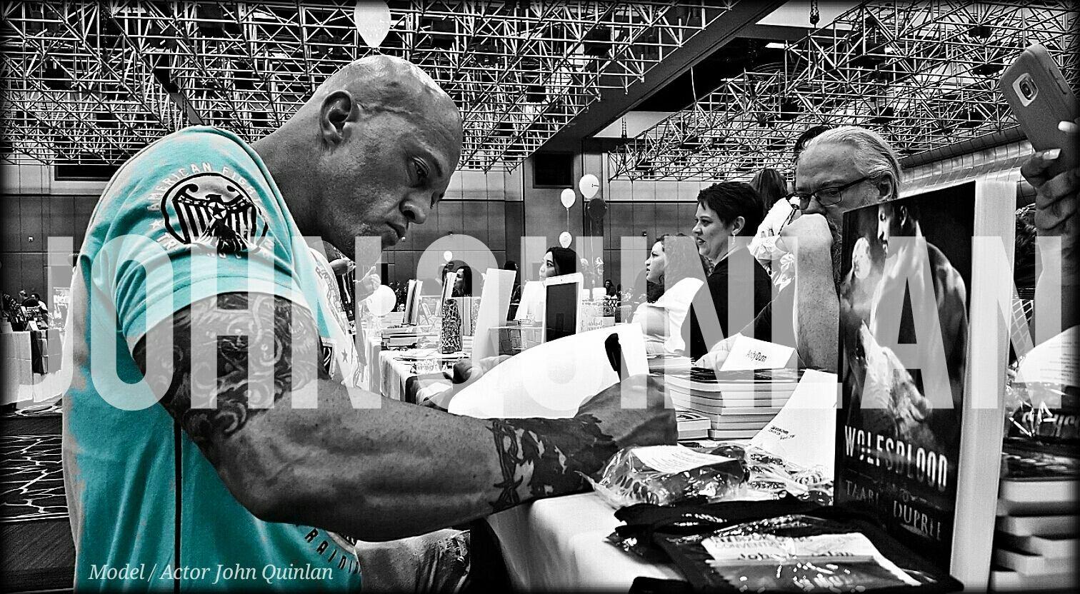 Model & Actor John Joseph Quinlan Las Vegas Autograph Signing #JohnQuinlan