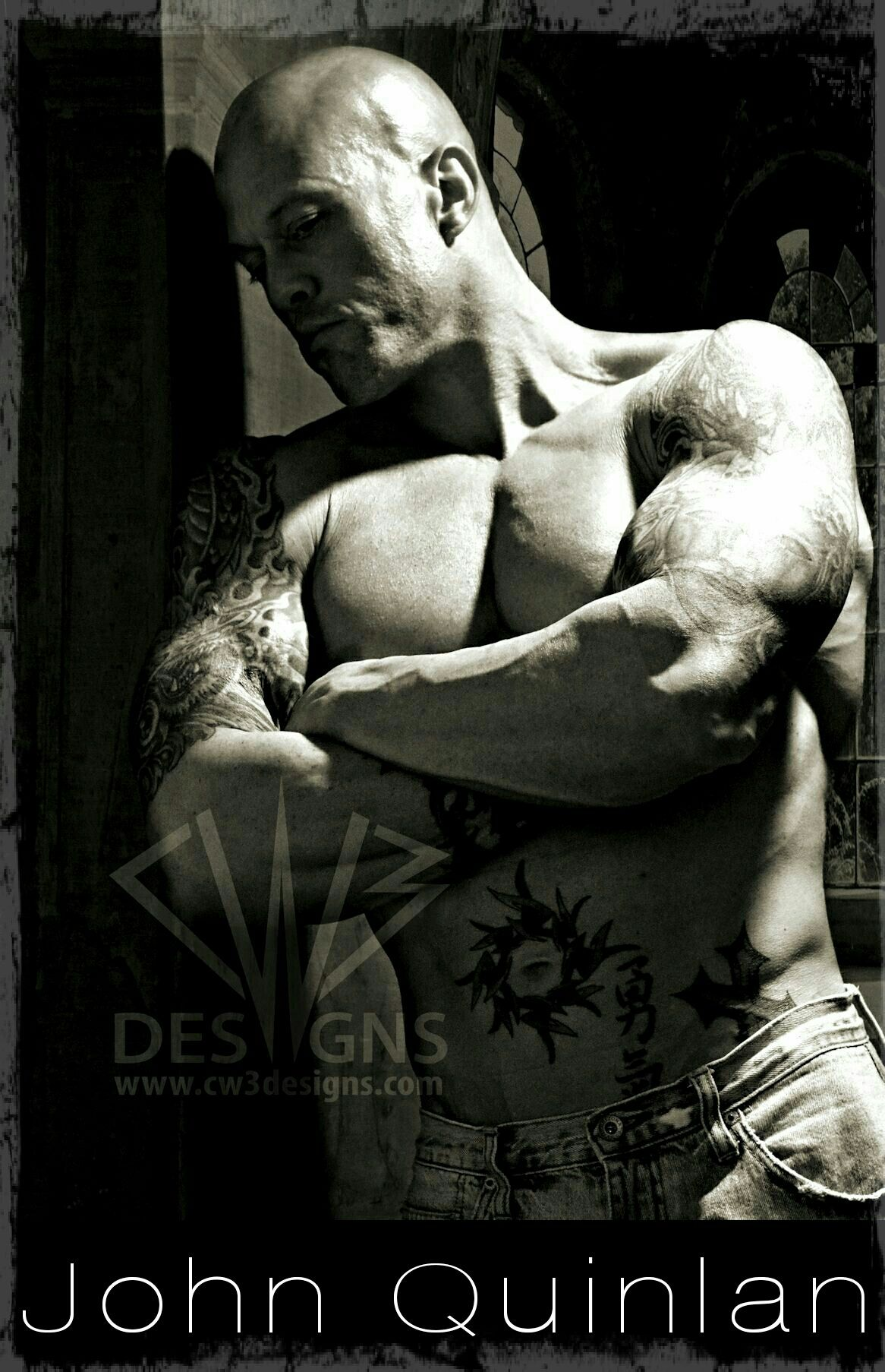 Actor & Physique Cover Model John Joseph Quinlan by Claudia Bost #JohnQuinlan
