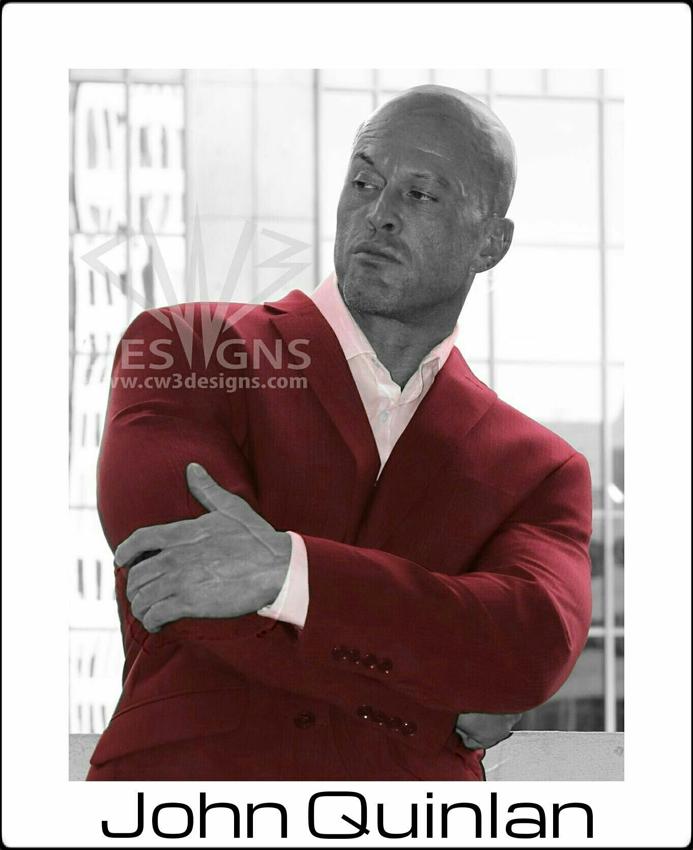 Cover Model & Actor John Joseph Quinlan Celebrity Promo #JohnQuinlan