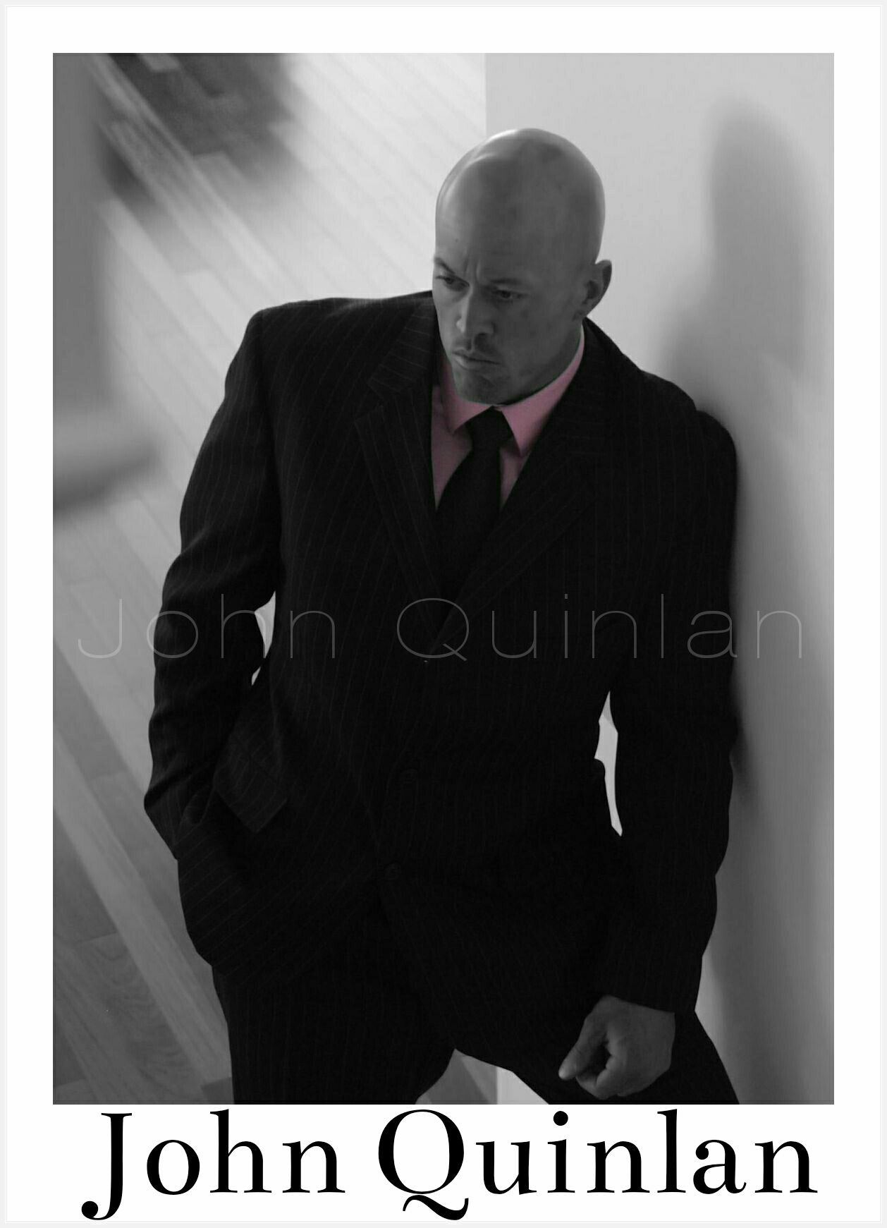 Male Model & Actor John Joseph Quinlan in Calvin Klein Suit #JohnQuinlan
