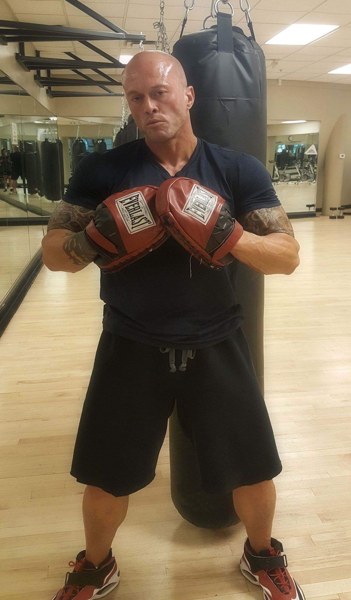 Model & Actor John Joseph Quinlan Gym Training 7-12-2017 #JohnQuinlan