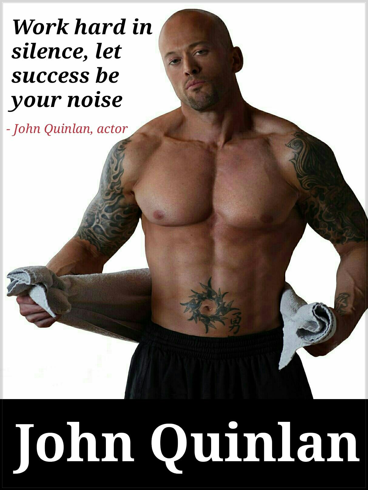 Physique Fitness Cover Model & Actor John Joseph Quinlan Hard Work #JohnQuinlan