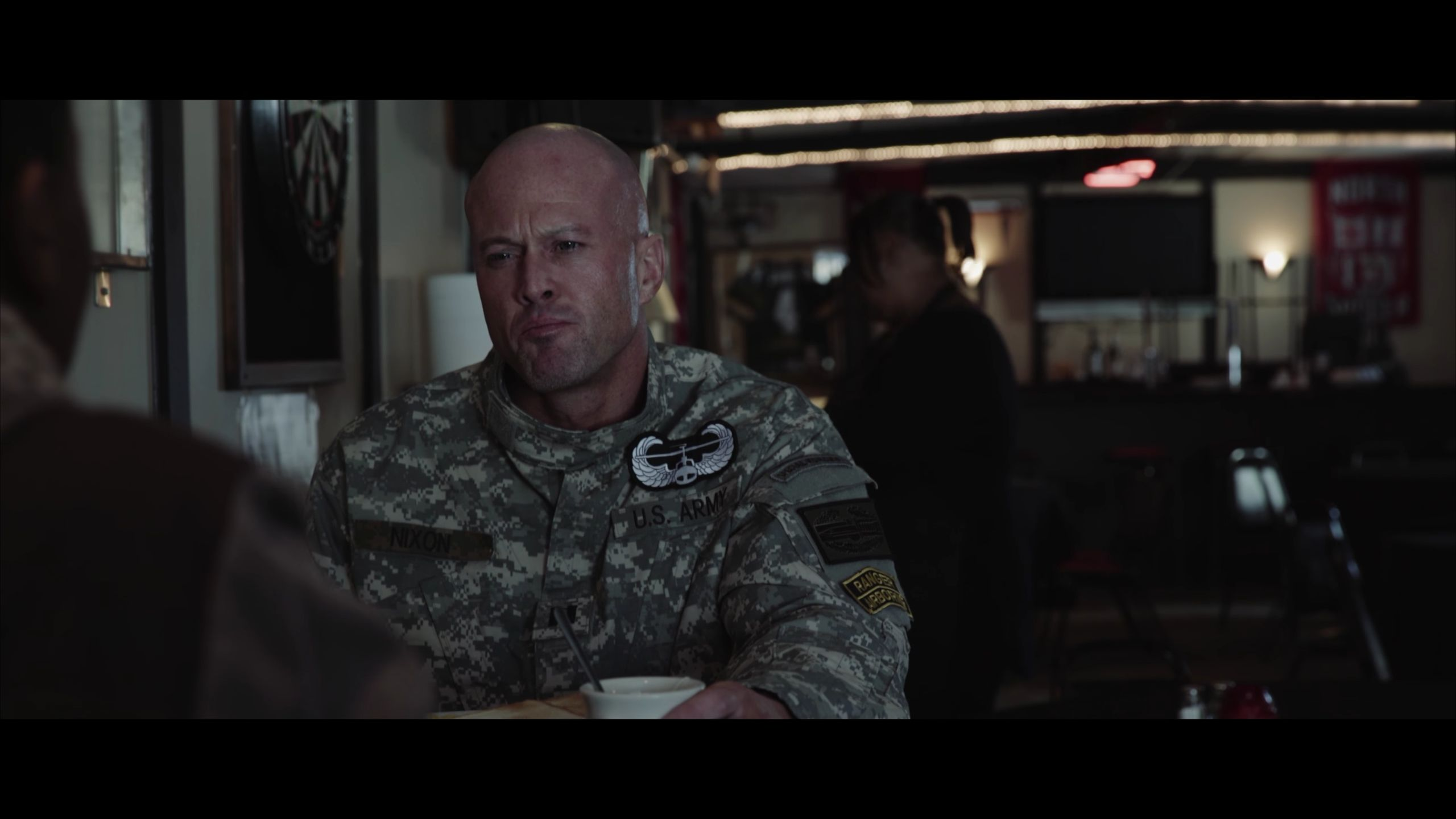 Actor John Joseph Quinlan as US Army Captain Jake Nixon with Tasha Holmes #JohnQuinlan