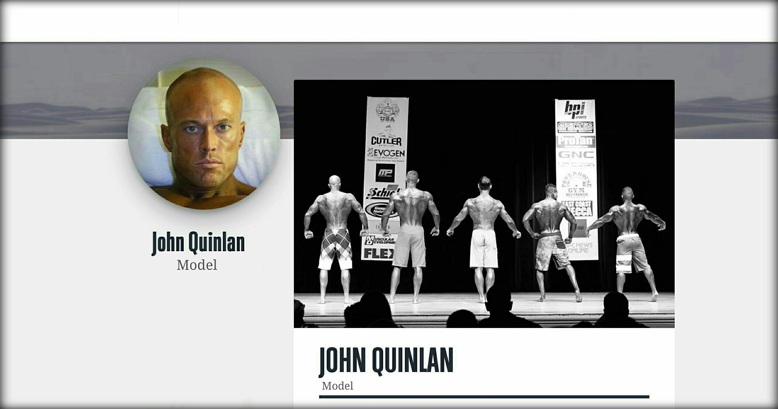 Model & Actor John Joseph Quinlan Biography @ Uplosed #JohnQuinlan