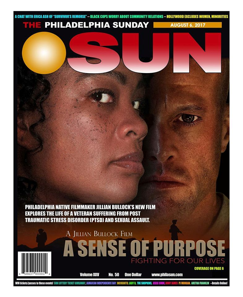 Philadelphia Sunday Sun Actor John Quinlan & Tamara Woods Cover #JohnQuinlan