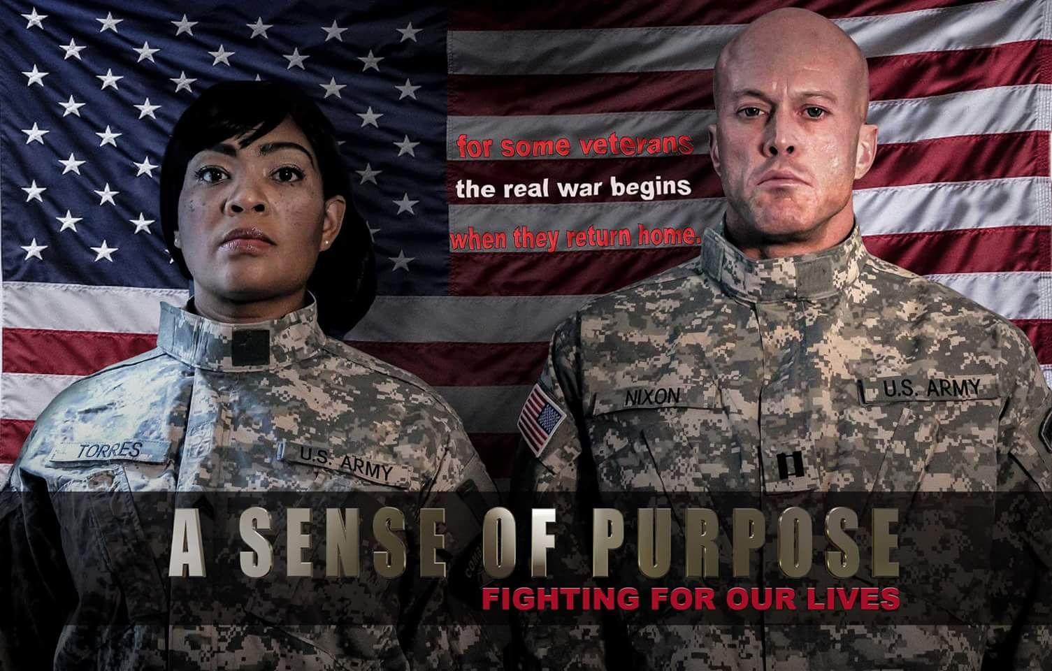 A Sense of Purpose Fighting For Our Lives - Tamara Woods & John Quinlan Poster #JohnQuinlan