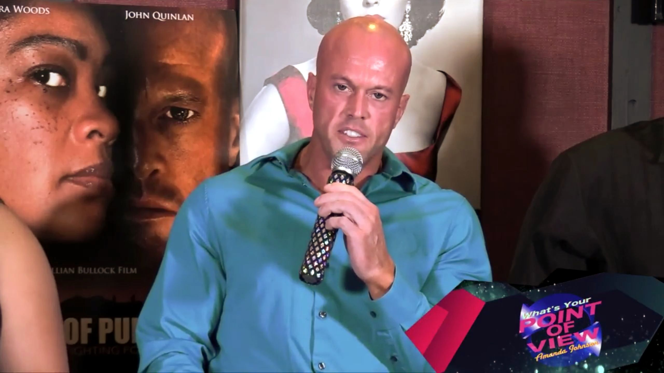 Actor John Quinlan & ASOP Cast What's Your Point of View TV Interview #JohnQuinlan