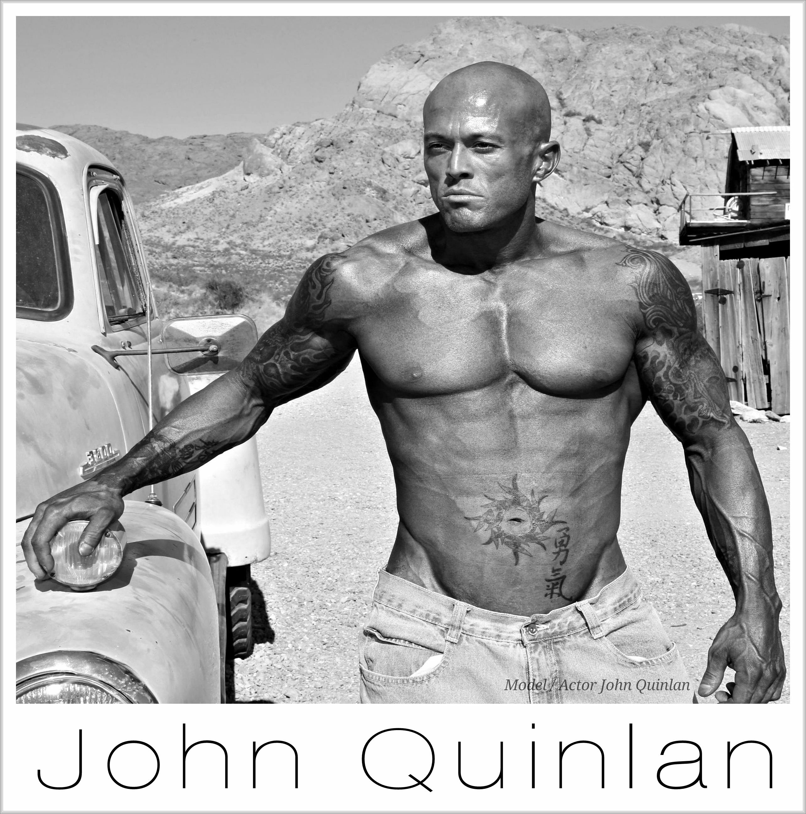 Model & Actor John Joseph Quinlan Fashion Physique #JohnQuinlan