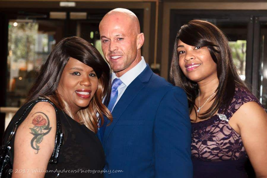 Actor & Model John Quinlan Tamara Woods & Jillian Bullock Philadelphia Film Awards 2017 #JohnQuinlan