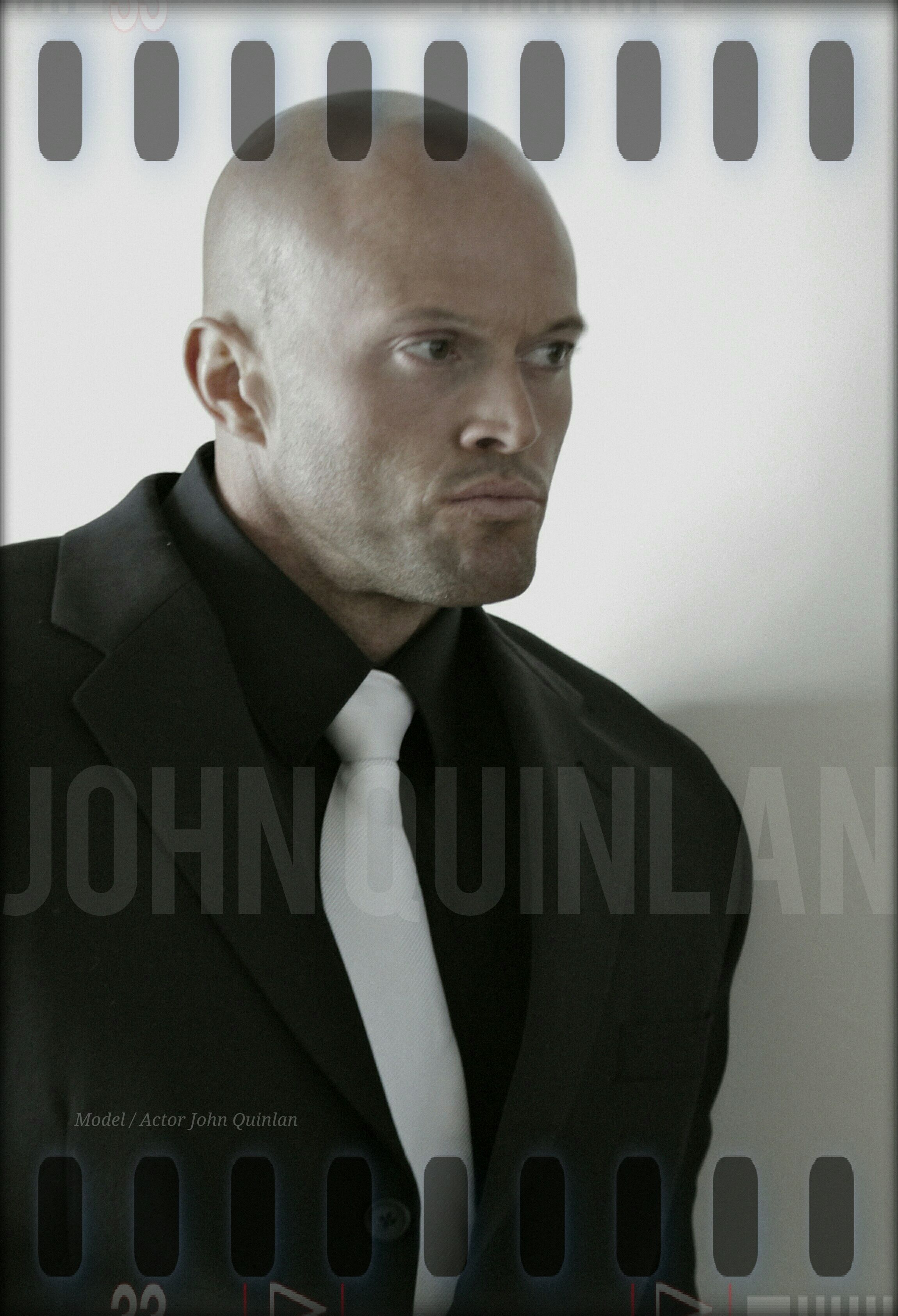 Male Fashion Model & Actor John Quinlan in Calvin Klein Poster #JohnQuinlan