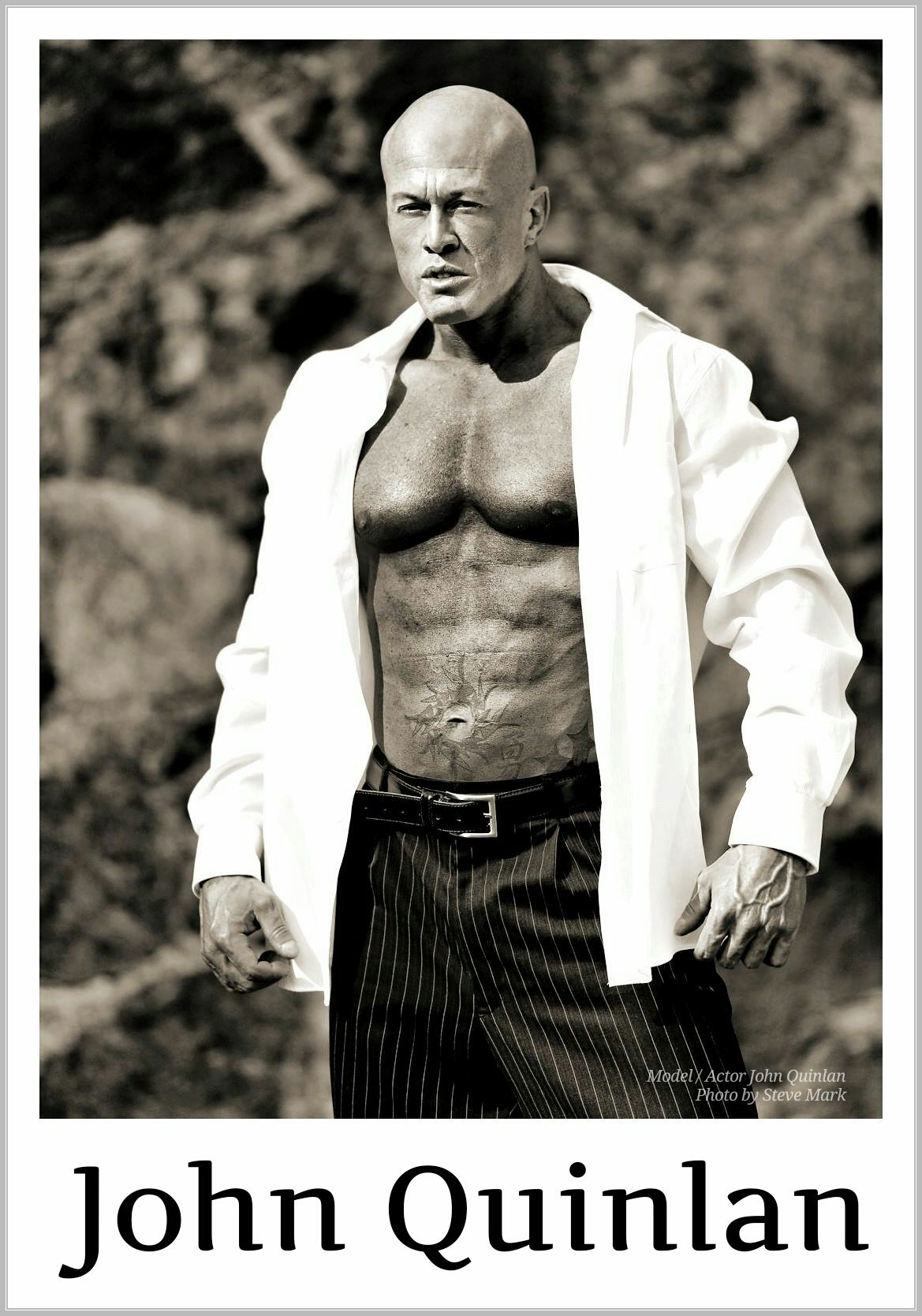 Model & Actor John Joseph Quinlan Character Promo by Steve Mark #JohnQuinlan
