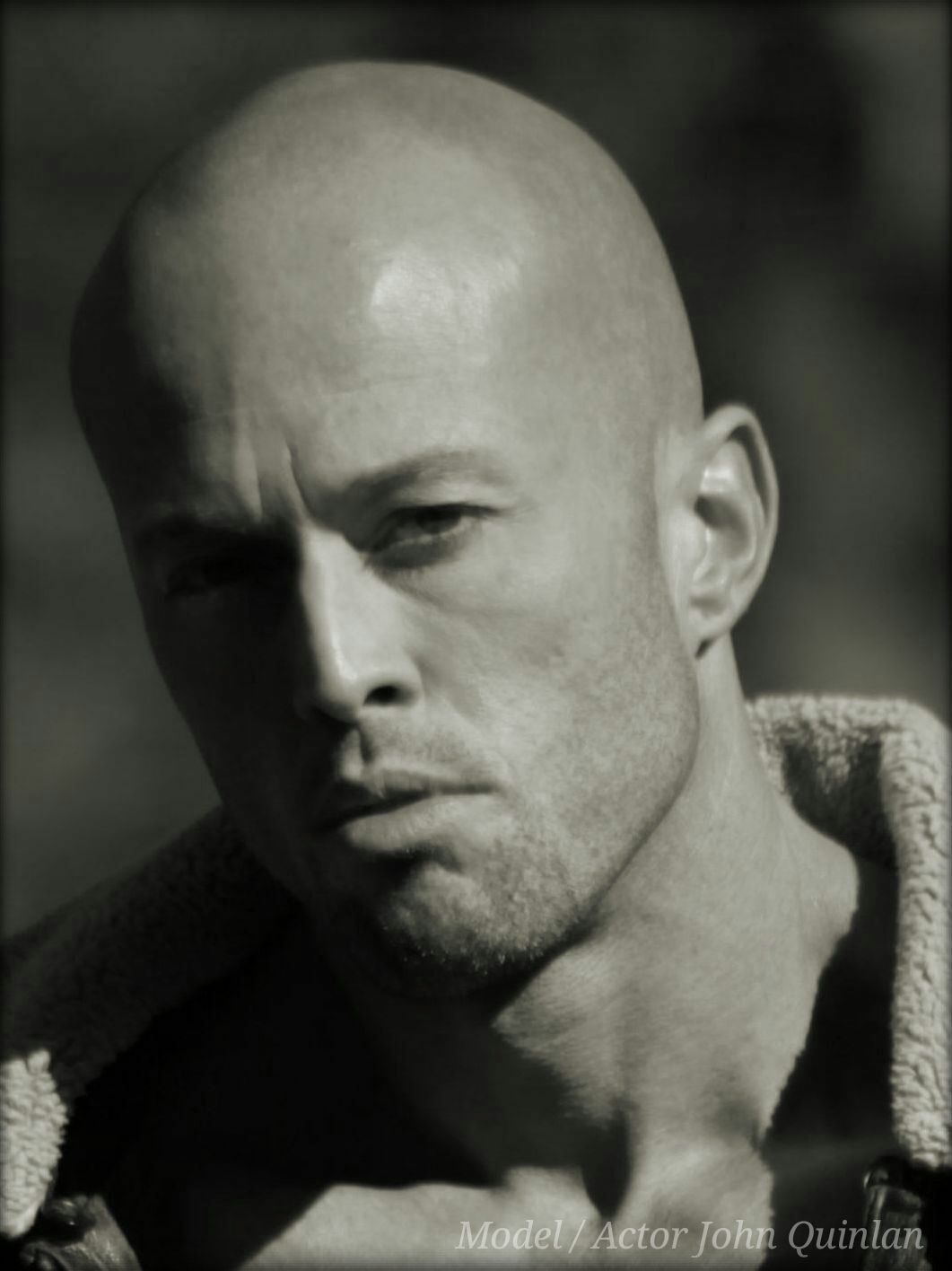 Model & Actor John Quinlan Head Shot in Calvin Klein #JohnQuinlan