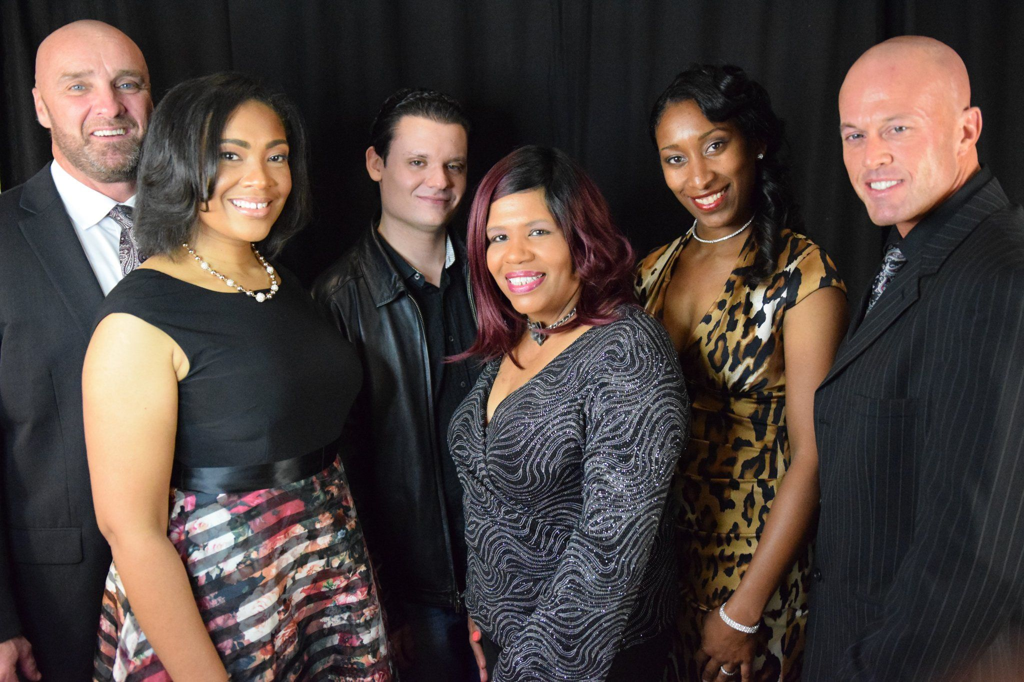 Model & Actor John Quinlan with ASOP Cast via Temple Red Carpet Screening 11-2017 #JohnQuinlan