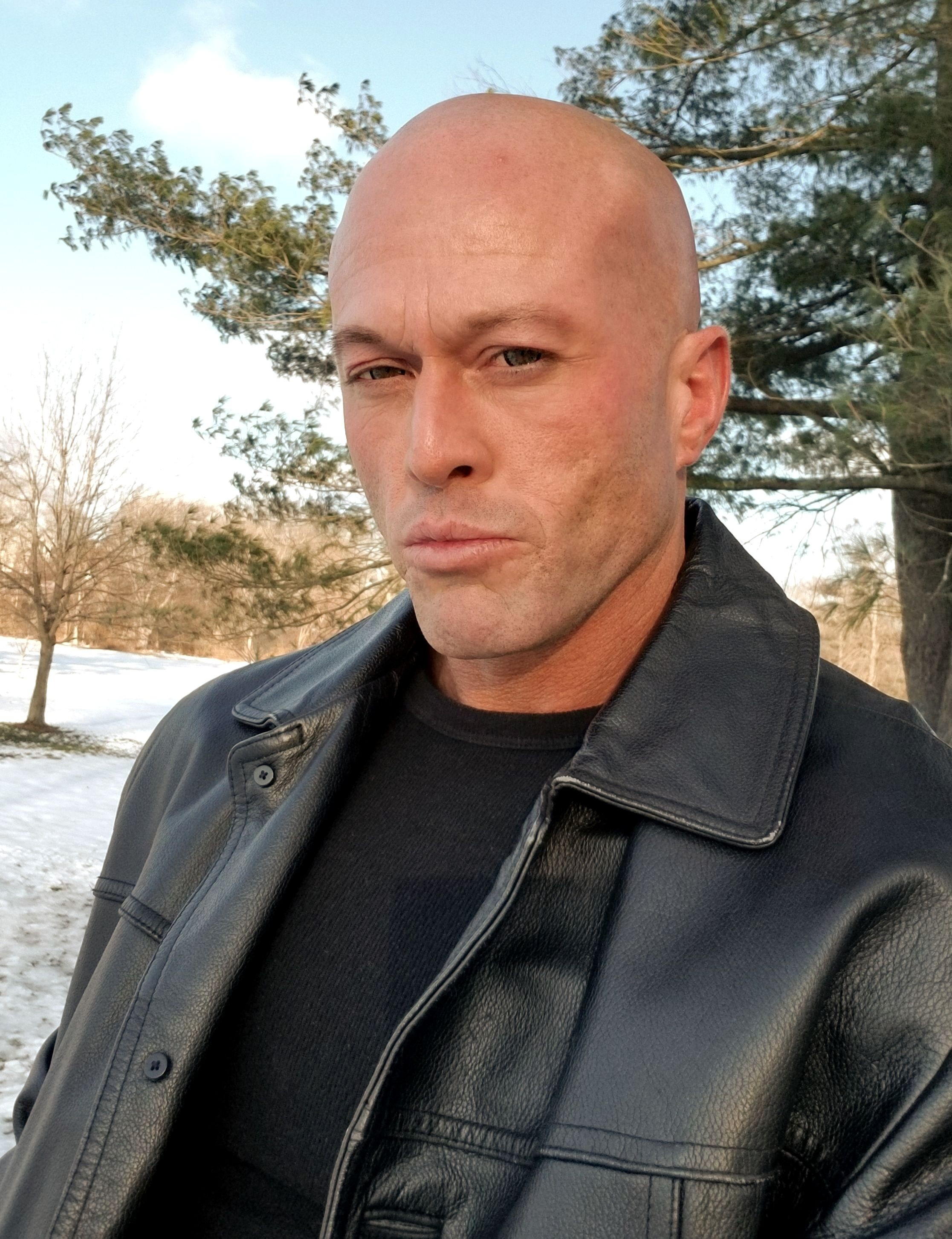 Model & Actor John Joseph Quinlan Black Leather 12-13-2017 #JohnQuinlan