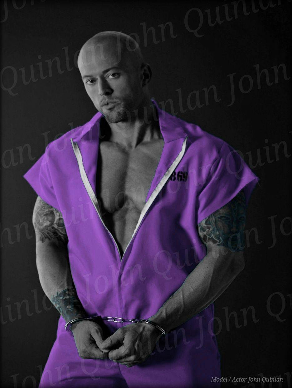 Romance Cover Model John Joseph Quinlan Poster 2012 #JohnQuinlan
