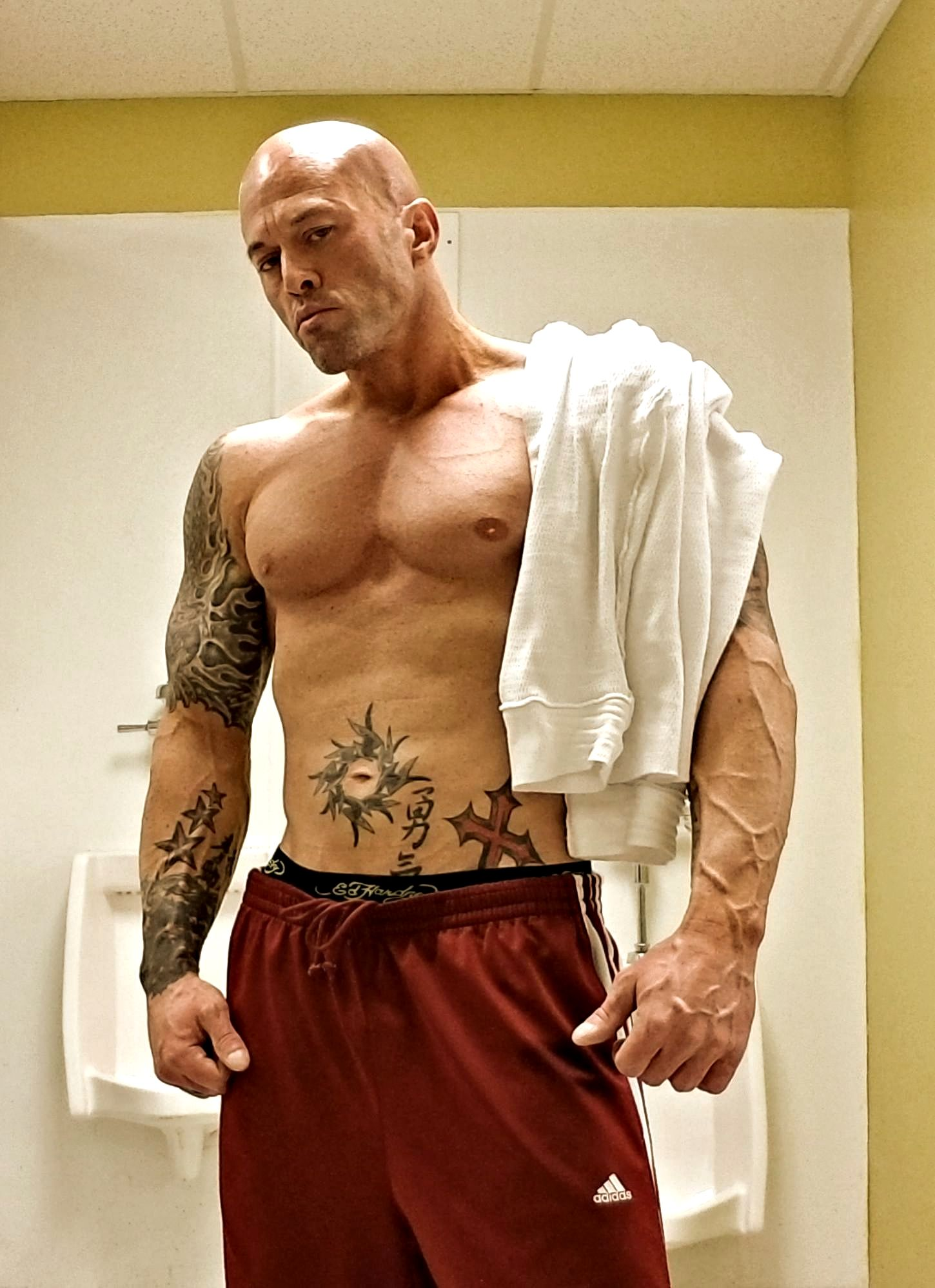 Model & Actor John Quinlan Physique Post Workout 2-8-2018 #JohnQuinlan